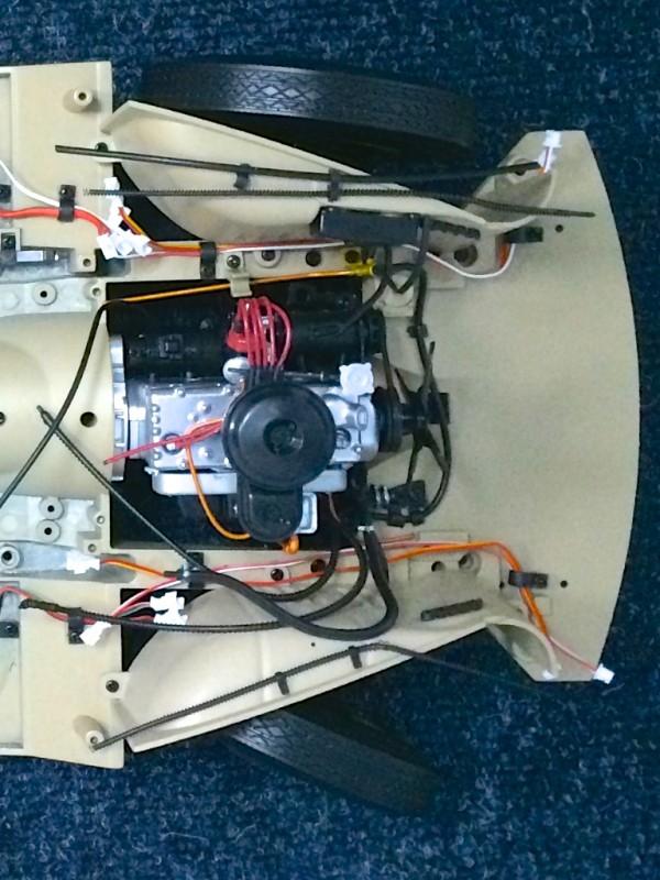 М20 05 Двигатель над подвеской